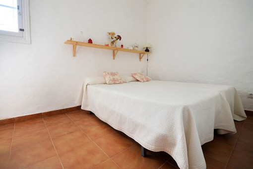 Bedroom of the guest house