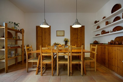 Dining room beside the kitchen
