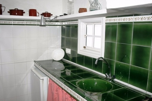 Lovely kitchen of the guest house