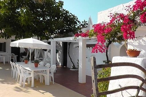 patio terrace area