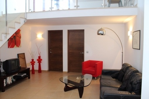 Modern attic flat in the historic centre of Ciutadella