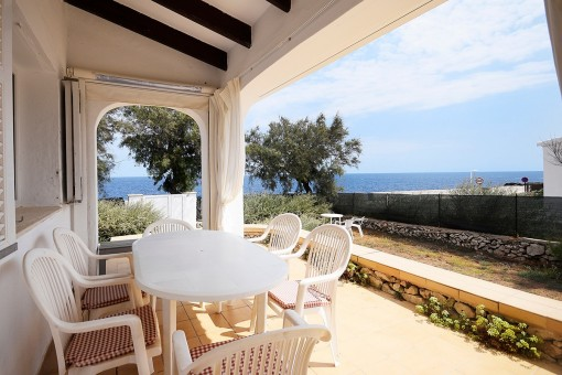 Villa on the first sea line with spectacular views in S'Algar