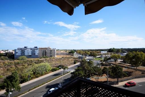 Balcony of 14 sqm