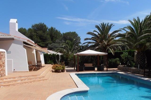 Mediterranean pool area