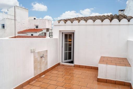 Fantastic roof terrace