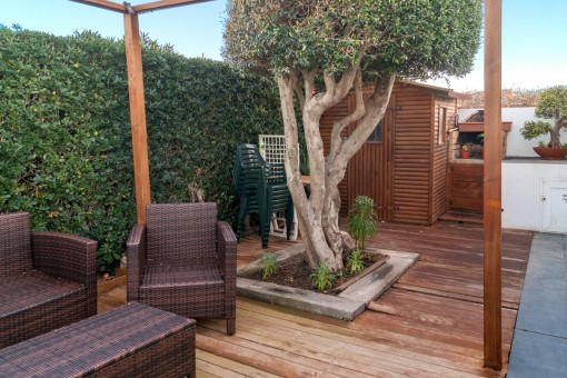 Lovely terrace with barbecue for summer nights