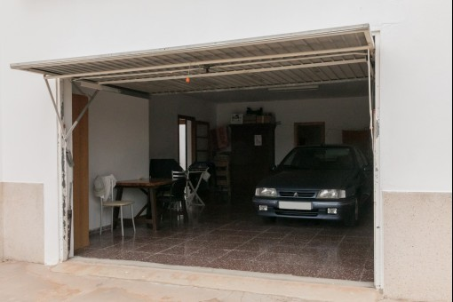 Additional space in the garage