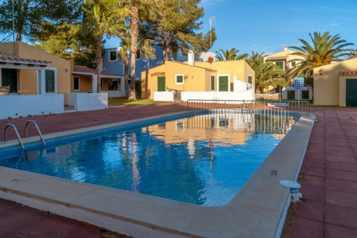 Apartment with pool in Cala'n Bosch