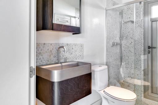 Elegant shower-bathroom