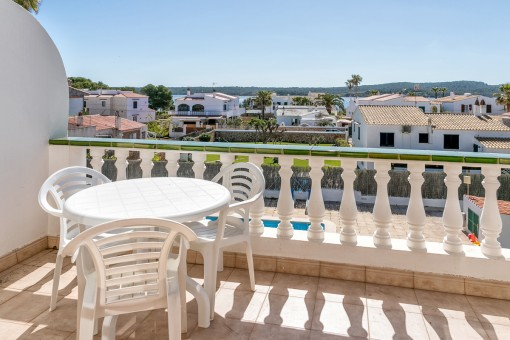 All apartments have a terrace with sea views