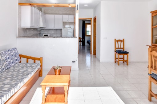 The complex offers in total 6 similar apartments