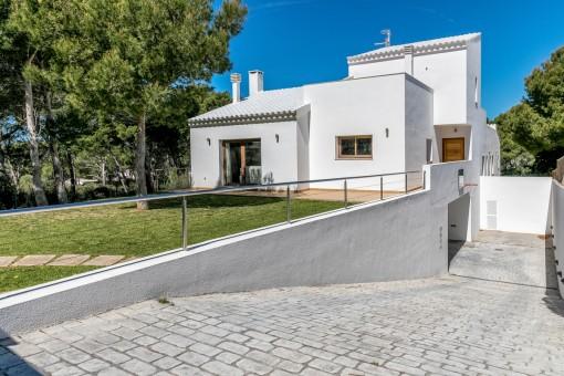villa in Cala Morell