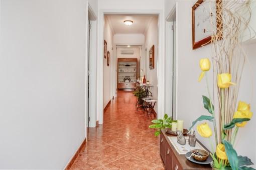 Korridor of the menorcan-style house