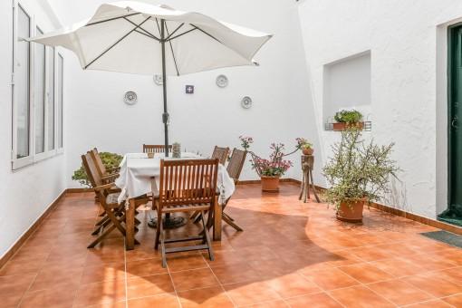Lovely, mediterranean patio