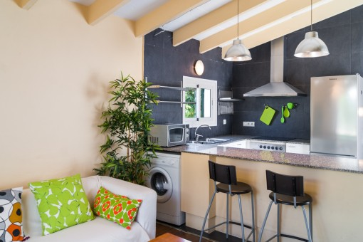 Bright and friendly kitchen