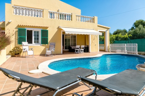 Large, spacious house with pool in a beautiful, quiet location in Son Vitamina de Mar