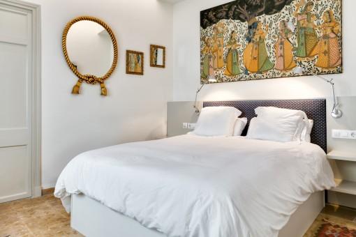 Comfortable double-bedroom