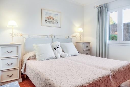 The villa is tastefully furnished