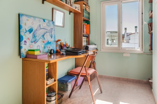 Small office of the house