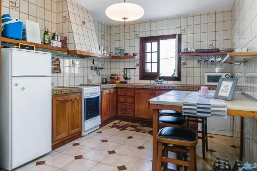 Authentic country house kitchen