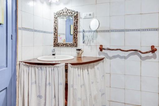 Authentic bathroom