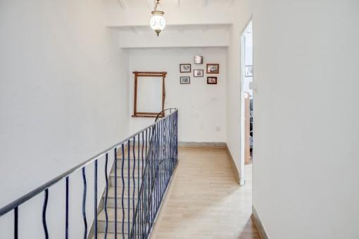 Corridor on the second floor