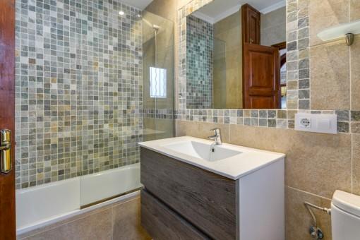 The second modern bathroom