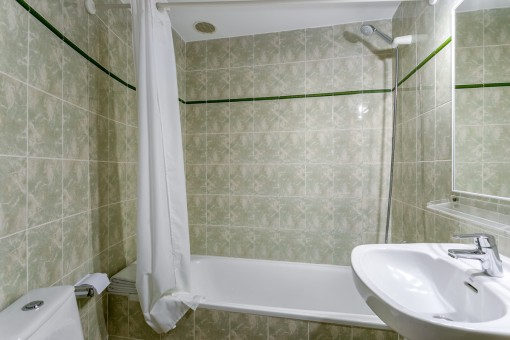 One of 24 bathrooms