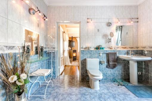 Shower-bathroom en suite
