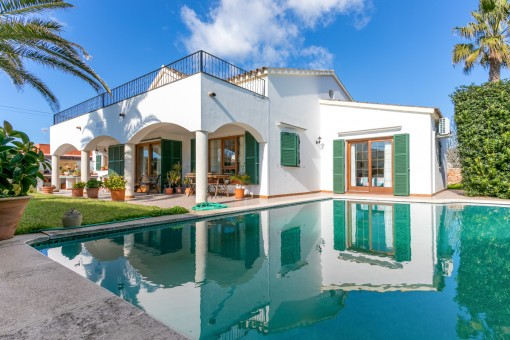 Wonderful house with pool in a quiet location in Son Ganxo
