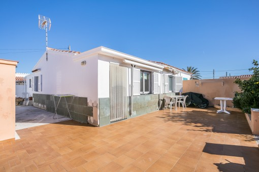Quietly-situated house in Cala en Porter
