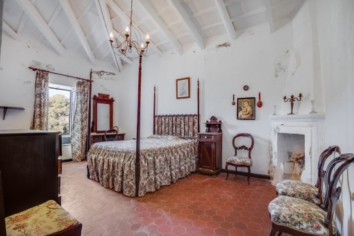 One of 8 bedrooms