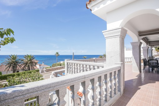 Dreamlike sea views from the terrace