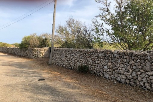 Typical stone wall