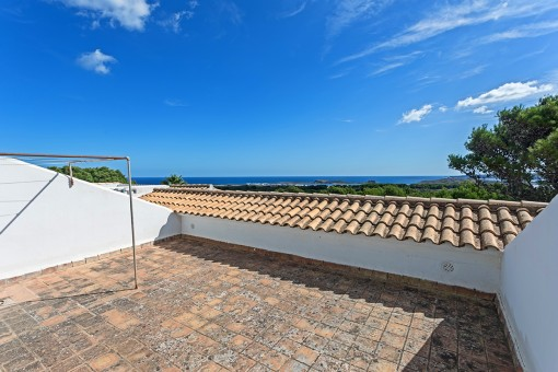 Lovely sea view apartment in Es Mercadal