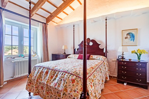 One of 7 bedrooms
