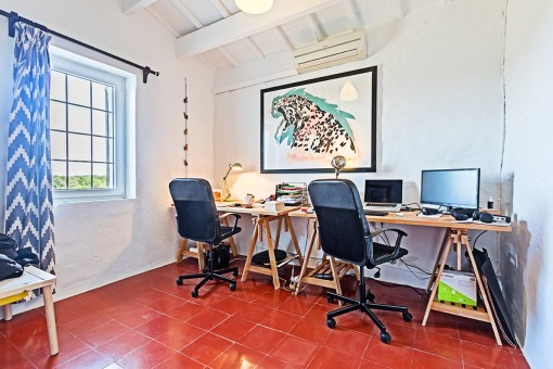 Bright office room