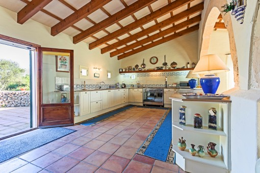 Traditional country house kitchen
