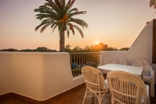 Lovely sea view terrace