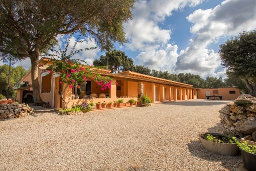 Nature, tranquillity and ample space-rustic finca near Sant Climent