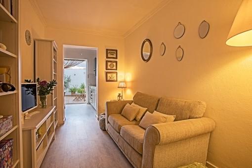 Cozy living area
