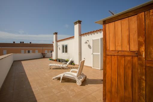 Alternative view the terrace